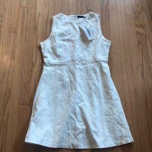 White lace skater dress. Brand new never worn.